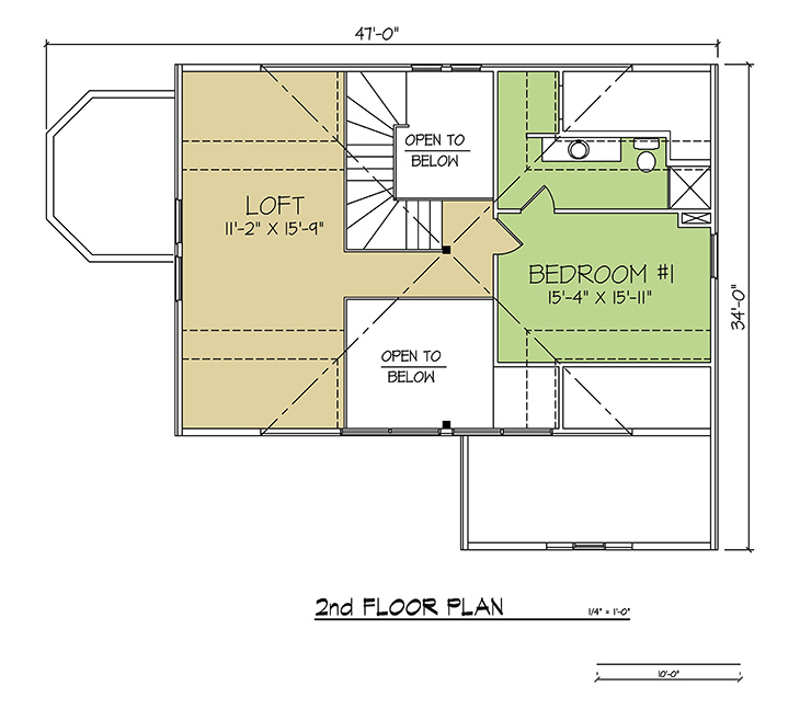 2nd FLOOR PLAN - Bay Ridge
