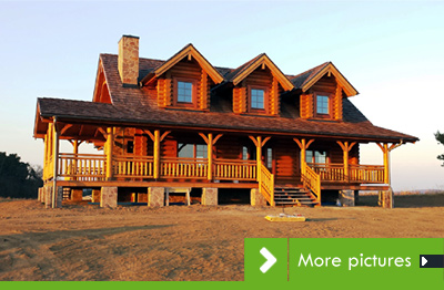 "Two ""Must See"" Jim Barna Log Homes in the Czech Republic"