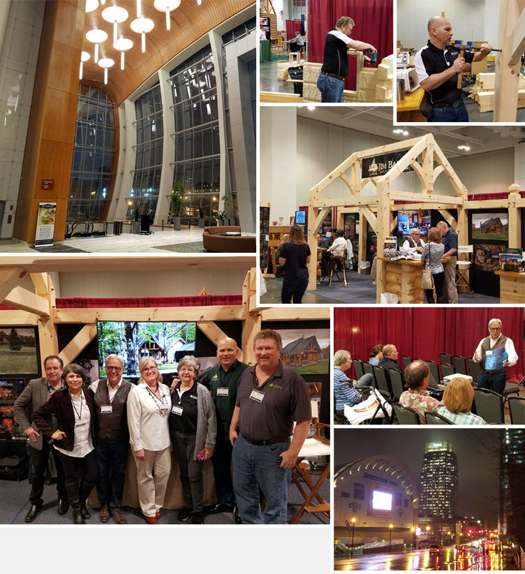 LOG AND TIMBER HOME SHOW IN NASHVILLE