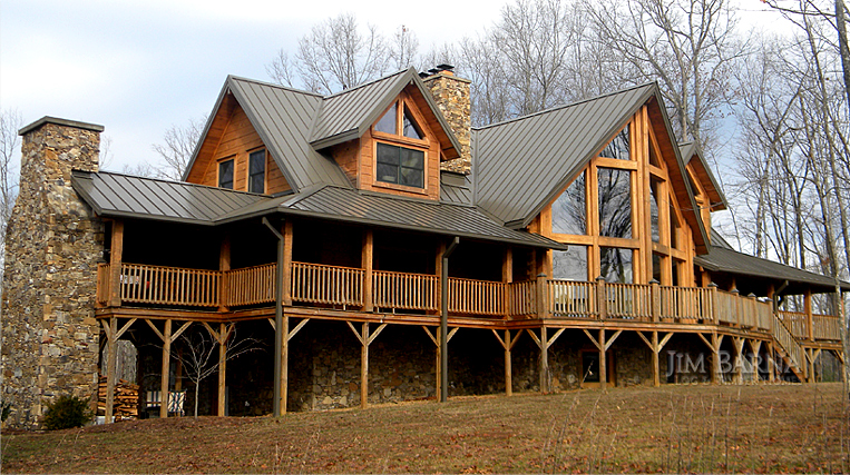 Log cabin log cabin homes log home kits log house for Large cabin kits