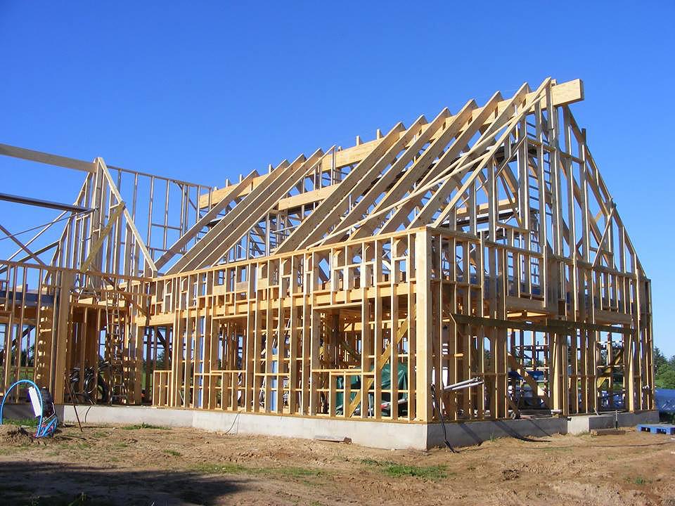 how to build a log home