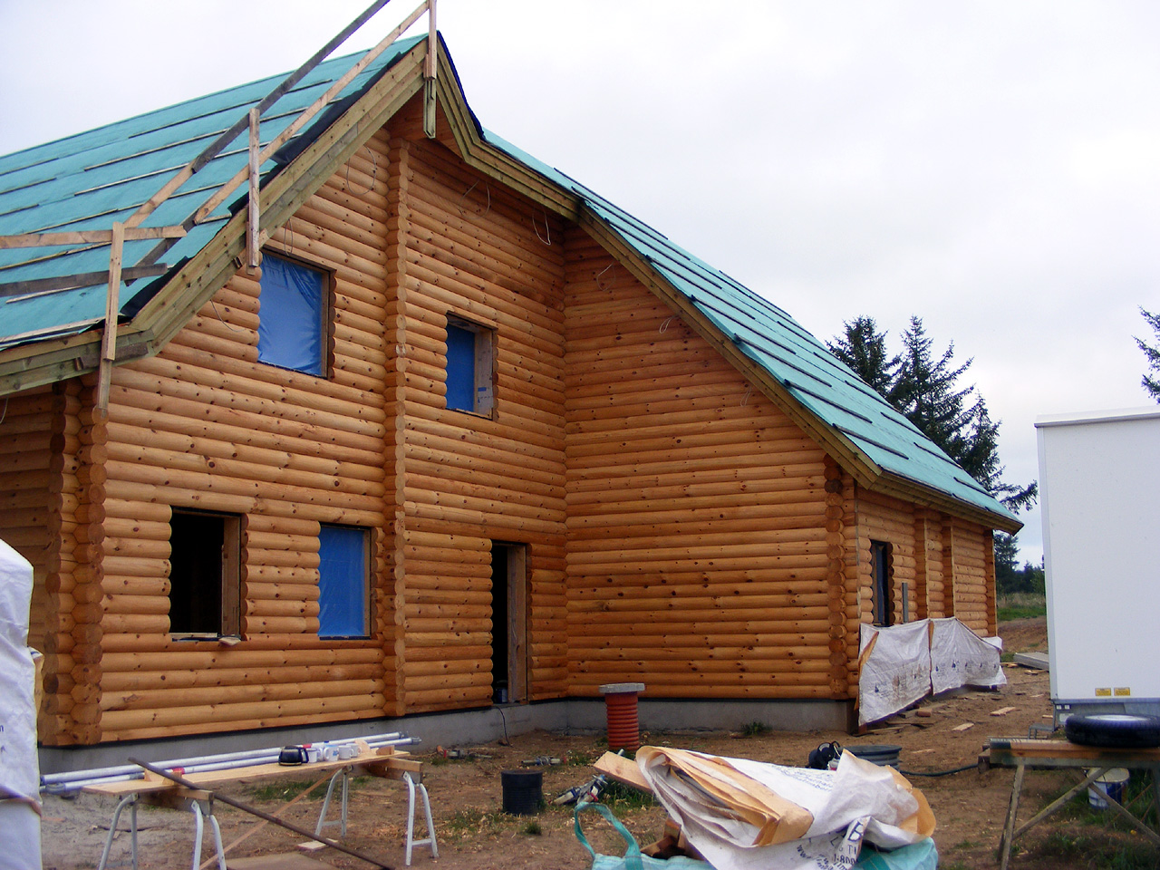 Log cabin log cabin homes log home kits log house for Rustic log home kits