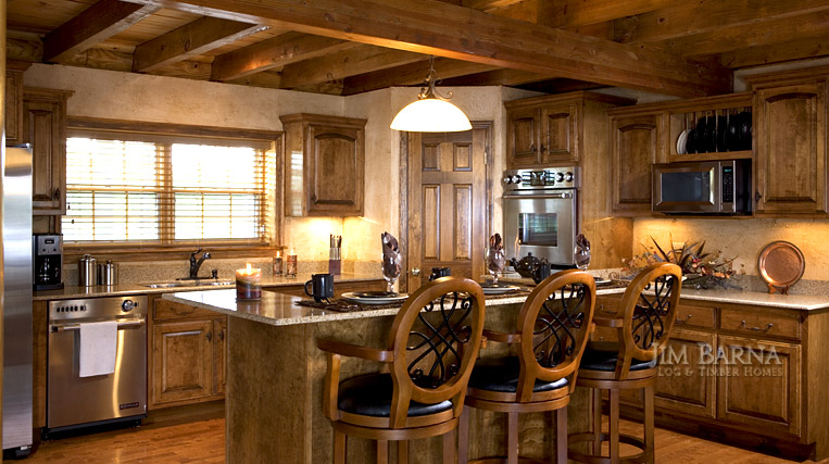 Jim Barna Log & Timber Homes International
